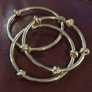 CWonder knot bracelet trio